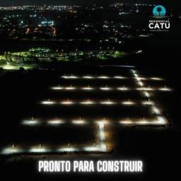 Título do anúncio: LOTEAMENTO RESIDENCIAL CATU - PRONTO PARA CONSTRUIR !