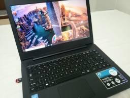 Notebook Positivo Semi Novo Barato  Aceito Cartão!!!