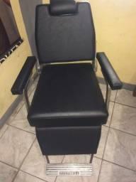 Cadeira barbeiro antiga