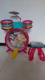 Bateria Infantil da Barbie seminova