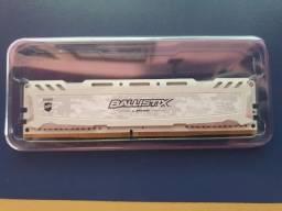 Novo Memória Ram 8Gb Crucial Ballistix Sport 2666Mhz