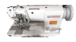 Máquina de Costura Industrial Reta Transporte Triplo Usada ( Entregue Completa)