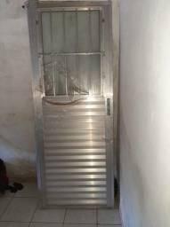 Porta de Alumínio 2,10 x 0,80 - NOVA