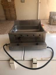 Fritadeira profissional a gás