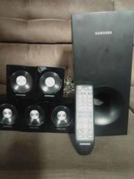 Caixas de Som e controle Home theater Samsung