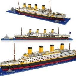 Blocos De Montar Navio Rms Titanic 1860 Peças Cruzeiro Novo Lego Brinquedo