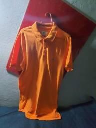 Título do anúncio: Camisa Polo Ecko Laranja Tamanho L