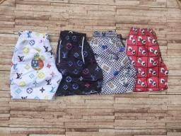 Shorts/ Adulto/ 3 por 99,90 / P,M,G,GG