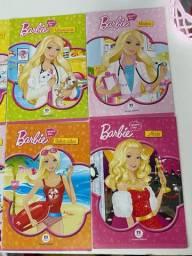 Revistas Barbie profissões