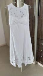 Vestido Noiva Civil branco P/38