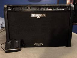 Amplificador Behringer V-Tone GMX212 100W Falantes Bugera + Footswitch