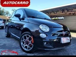 Fiat 500 Sport 1.4 2012 Completo!