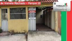 Aluga-se para casa ou comercio, bairro Parque 10