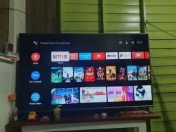 Vendo ou troco com TV menor é uma volta em dinheiro pra mim