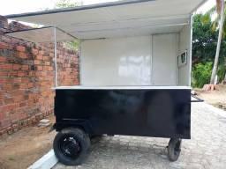Vendo carrinho food truck novo