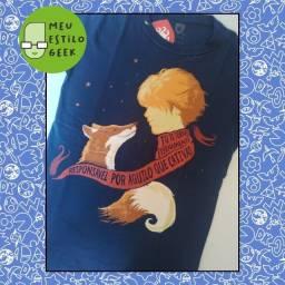 Camiseta Feminina Pequeno Príncipe - RedBug