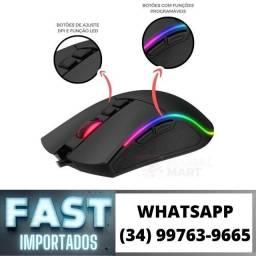 Mouse Gamer Lemox Led GT-M3