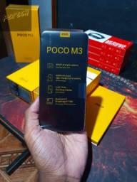 XIAOMI POCO M3 4GB/64GB + Capa e película de brinde LANÇAMENTO