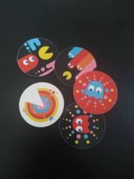 Título do anúncio: Tazos Elma Chips Pac Man