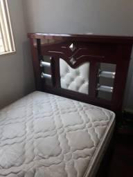 Cama de solteiro e colchão