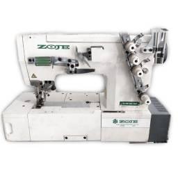 Máquina de Costura Industrial Colarete Zoje Usada Completa