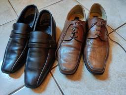 3 pares de sapatos masculino por 50,00