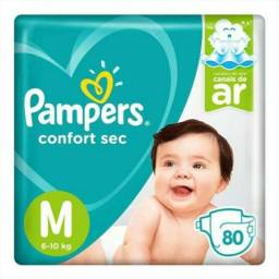 Fraldas Pampers R$25,00