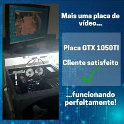 Conserto de Placa de Vídeo, Notebook, Placa-Mãe, PC Gamer