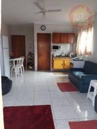Kitnet com 1 dormitório para alugar, 30 m² por R$ 850,00/mês - Tupi - Praia Grande/SP