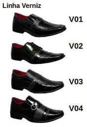 Sapato social ponta de estoque R$16