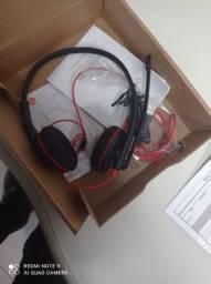 Redfone.headphone com microfone