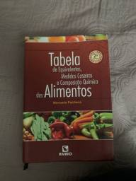 Tabela de Equivalentes, Medidas Caseiras e Composição Química dos Alimentos