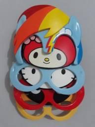Coleção Óculos Hello Kitty, Chococat, My Melody, Pony Rainbow (Sanrio)