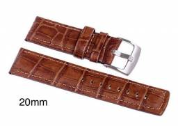 Pulseira para relógio couro Ostral 20mm nova