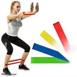 Kit 5 fitas miniband Exercicios