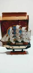Navio colecionador  20cm