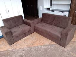 Jogo de sofá novo a pronto entrega