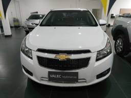 Chevrolet Cruze Sedan LT 1.8 automático branco