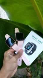 Smartwatch D20-Y68 rosa.