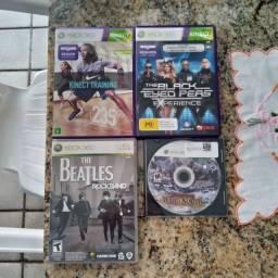 4 jogos originais para Xbox 360 usados