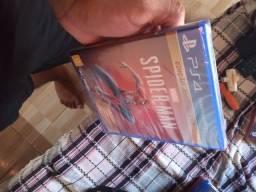 Jogo Spiderman PS4 lacrado menos de um mês de comprado