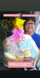 Cesta de café da manhã reginal RLC cesta e muito mais dia das mães