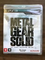 Metal Gear Rising e Metal Gear Solid The Legacy Collection - PS3 comprar usado  Uberlândia