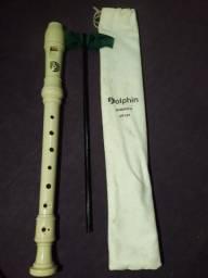 Vende-se flauta Dolphin Barroca DP124 original