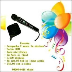 Karaoke, mais de 9500 músicas