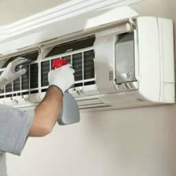 Limpeza de ar condicionado instalação e manutenção