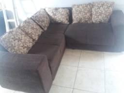 Sofá usado marron