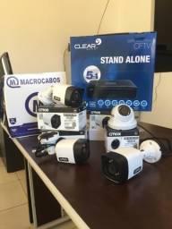 Kit com 4 Câmeras de Segurança JÁ INSTALADO!