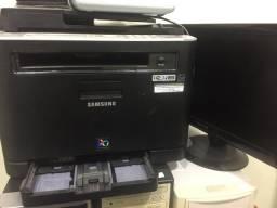 Impressora e tela queimado