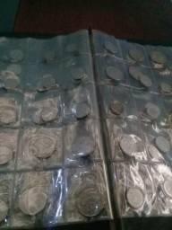 Vendo mia coleção de moeda de prata